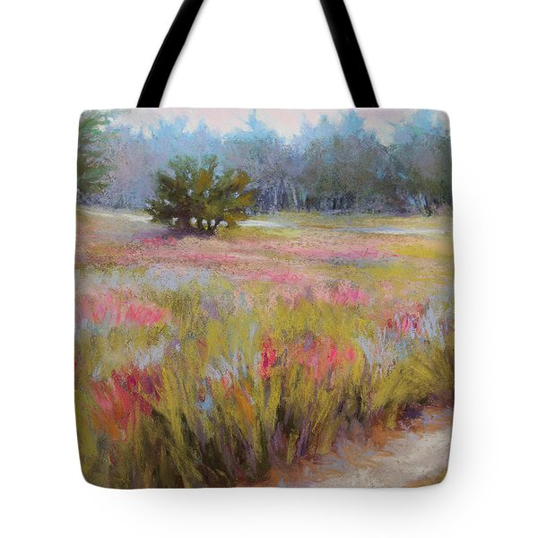 Little Tree Road Tote Bag