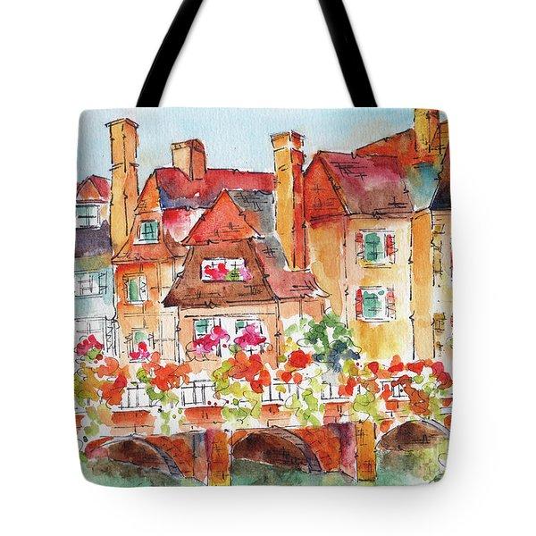 Little Venice Colmar France Tote Bag