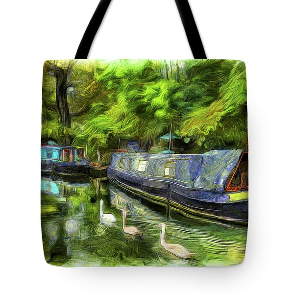 Little Venice London Van Gogh Art Tote Bag