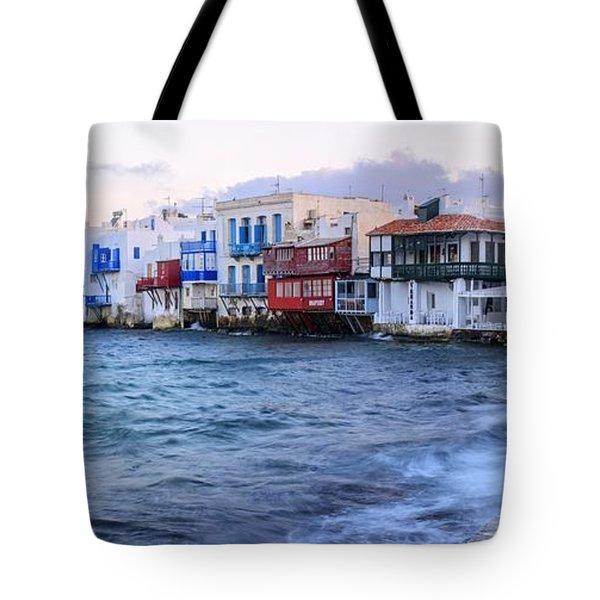 Little Venice Sunrise Tote Bag