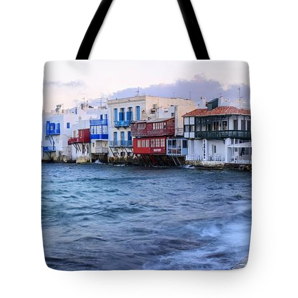 Little Venice Sunrise Tote Bag by Brad Scott