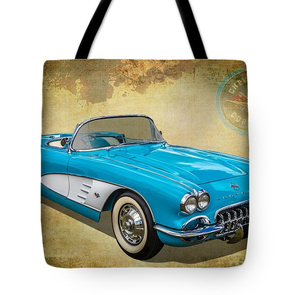 Little Vette Tote Bag