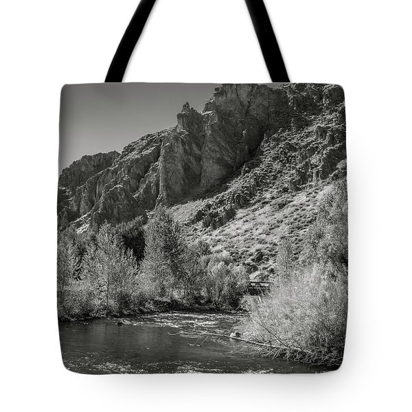 Little Wood River 2 Tote Bag