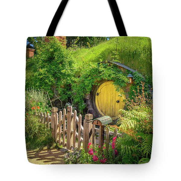 Little Yellow Door Tote Bag