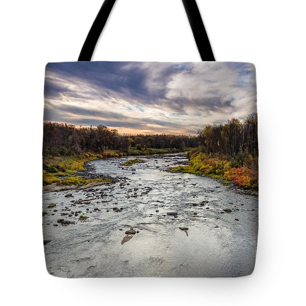 Littlefork River Tote Bag
