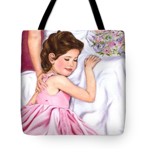 Littlest Wedding Belle Tote Bag