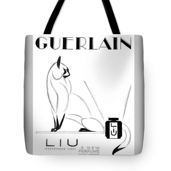 Tote Bag featuring the digital art LIU by ReInVintaged