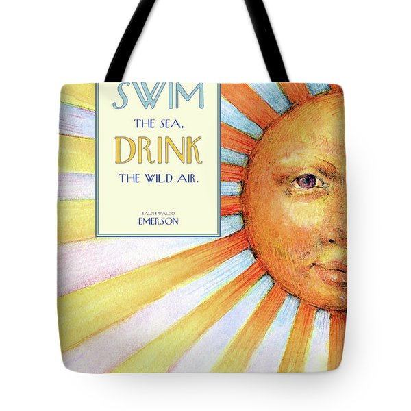 Live In The Sunshine Tote Bag