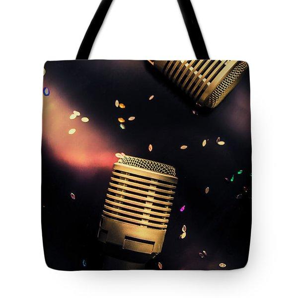 Live Musical Tote Bag