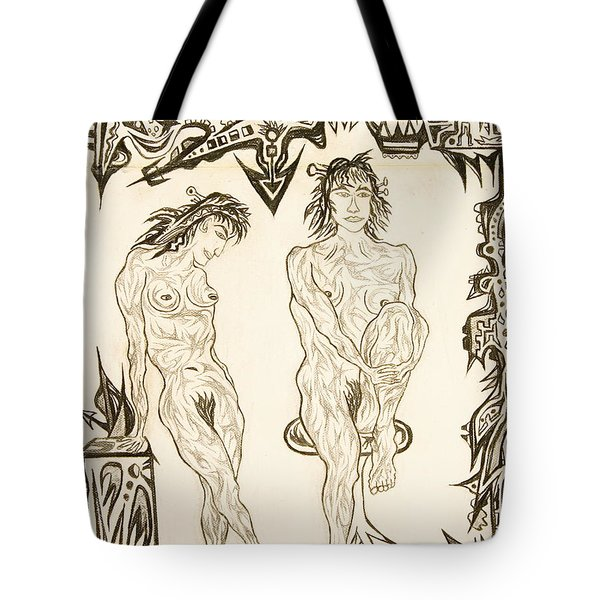 Live Nude 10 Female Tote Bag