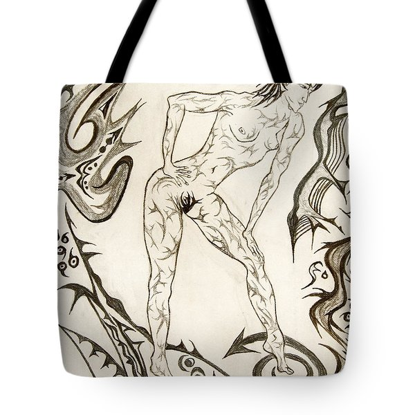Live Nude 3 Female Tote Bag