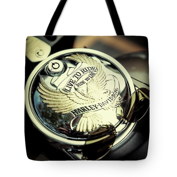 Tote Bag featuring the photograph Live To Ride by Samuel M Purvis III