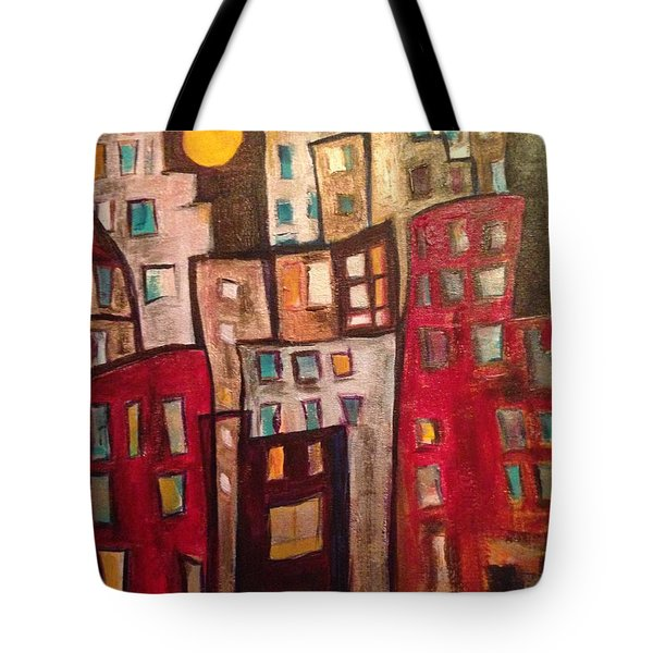 Lively City 1 Tote Bag