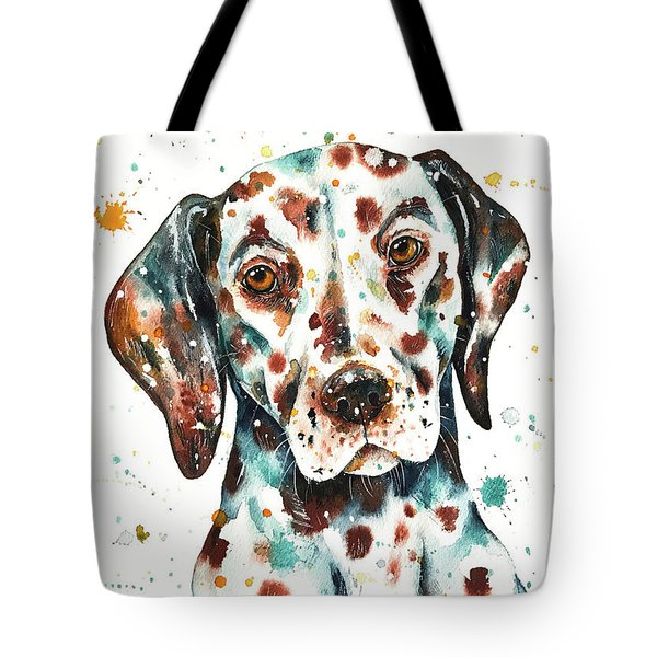 Liver-spotted Dalmatian Tote Bag
