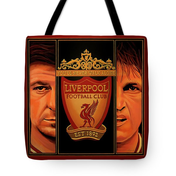 Liverpool Painting Tote Bag