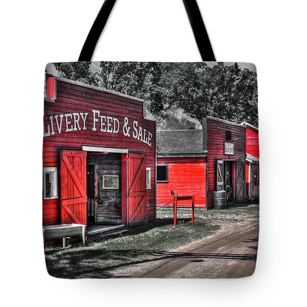 Livery Feed Tote Bag