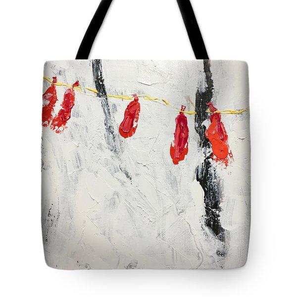 Lives Deflated Tote Bag