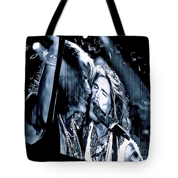Livin On The Edge. Aerosmith Live Tote Bag