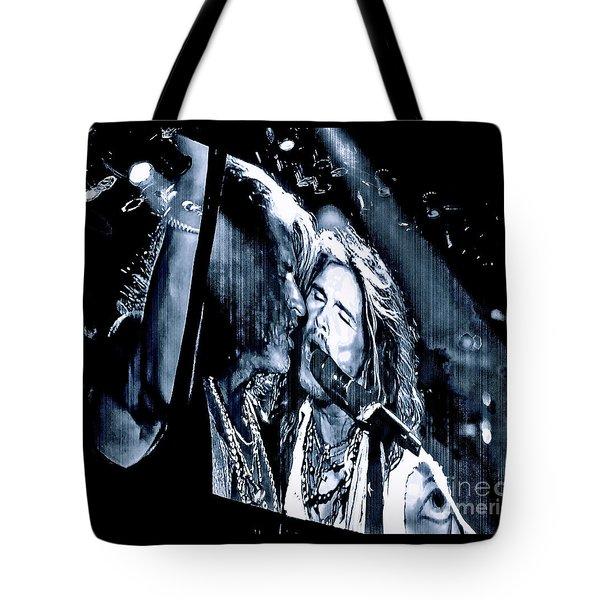 Livin On The Edge. Aerosmith Live Tote Bag