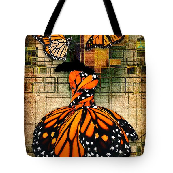 Tote Bag featuring the mixed media Living A Life With No Boundaries by Marvin Blaine