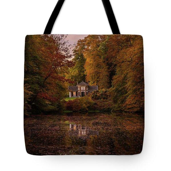 Living Between Autumn Colors Tote Bag