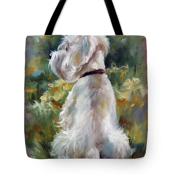 Living Color Tote Bag by Mary Sparrow
