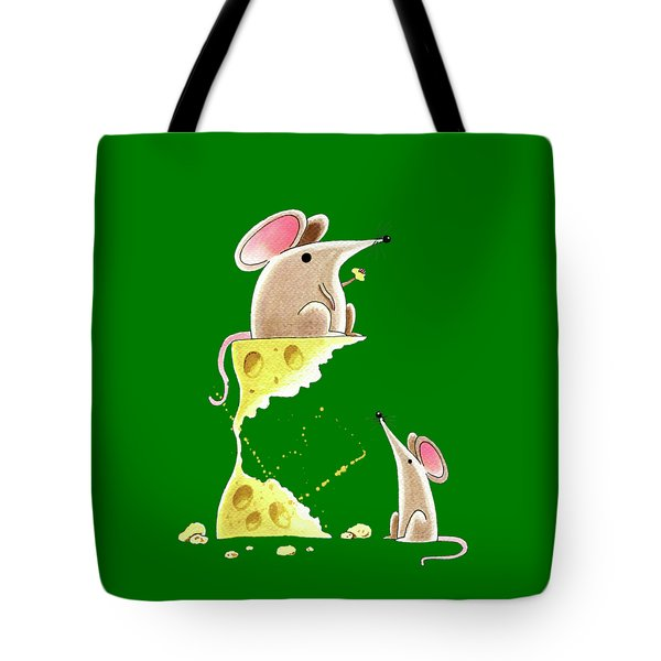 Living Dangerously  Tote Bag by Andrew Hitchen