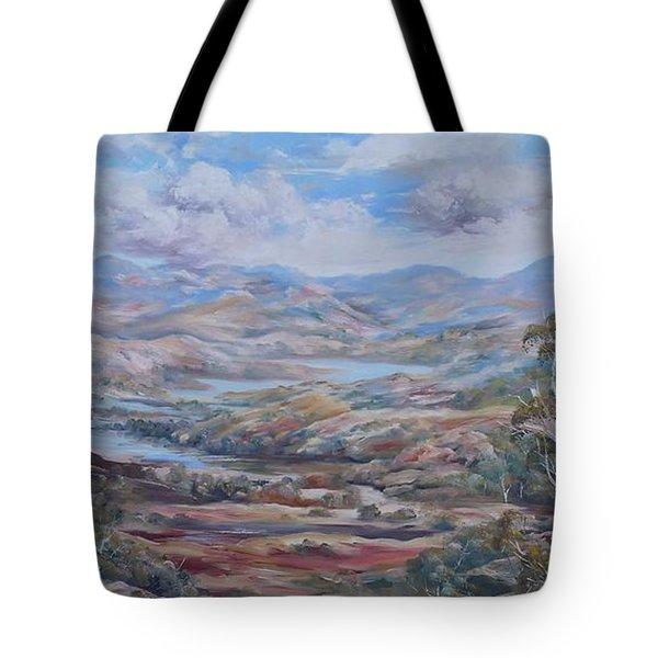Living Desert Broken Hill Tote Bag