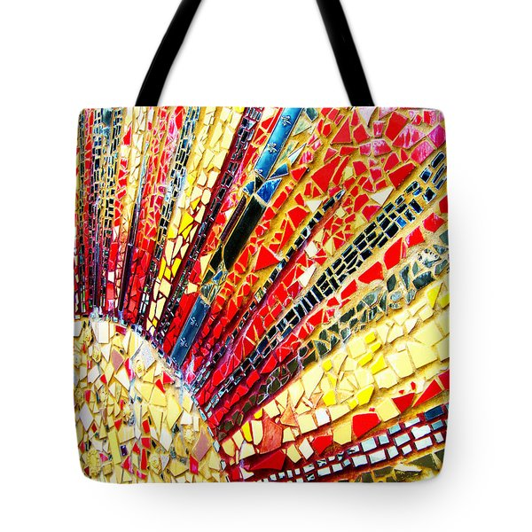 Living Edgewater Mosaic Tote Bag by Kyle Hanson