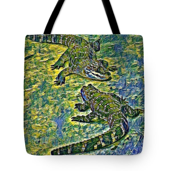 Living Fossils  Tote Bag