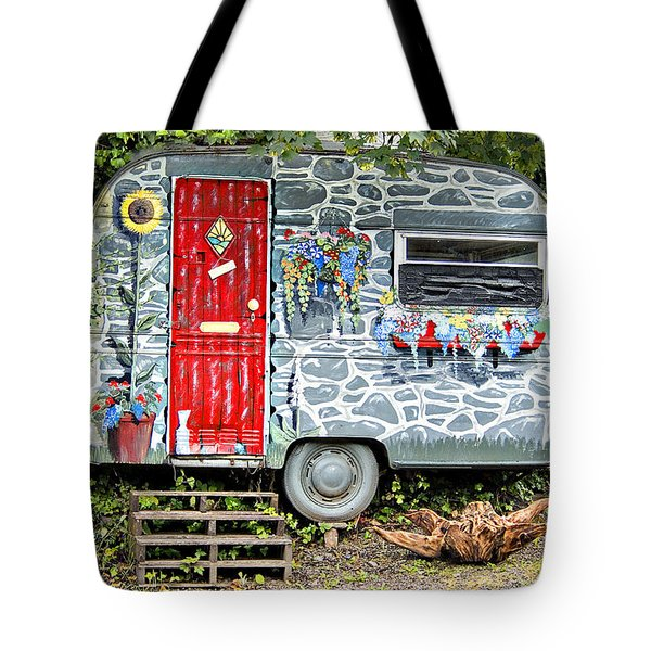 Living In Art Tote Bag by Meirion Matthias