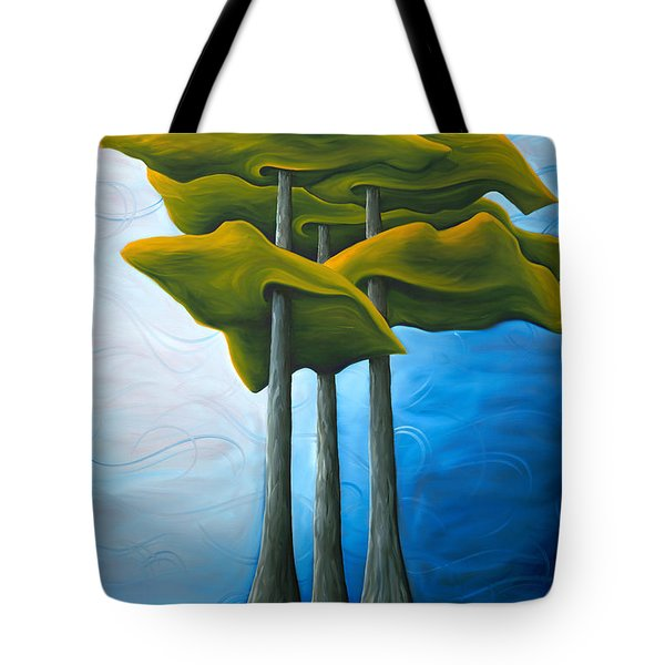 Living In The Shadow Tote Bag by Richard Hoedl