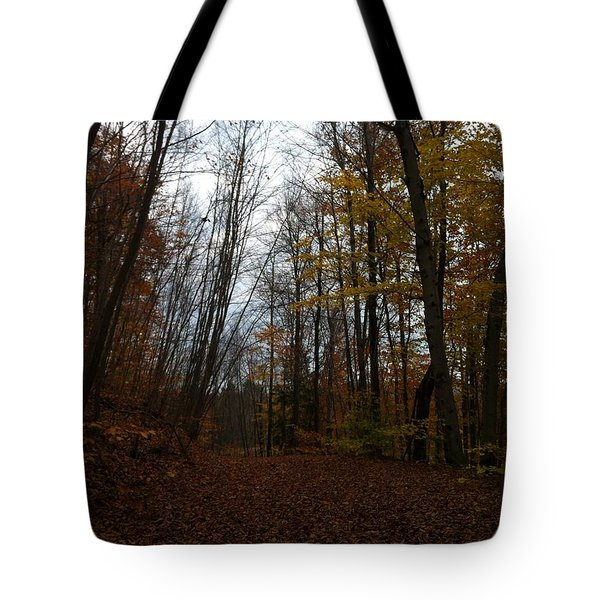 Living In The Sticks Tote Bag