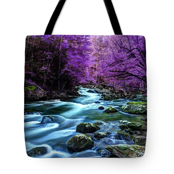 Living In Yesterday's Dream Tote Bag by Michael Eingle