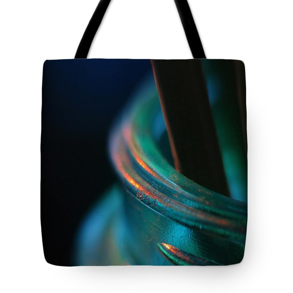 Living On The Edge... Tote Bag
