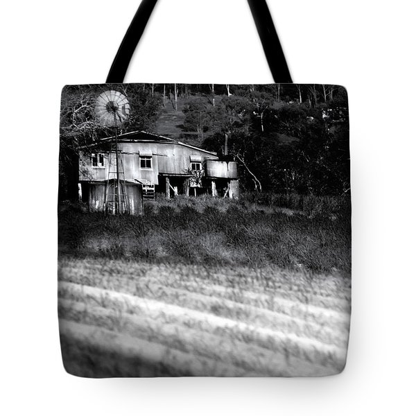 Living On The Land Tote Bag by Holly Kempe