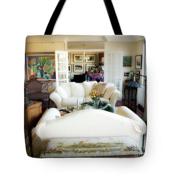 Living Room Iv Tote Bag by Madeline Ellis