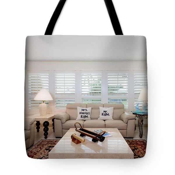 Living Room Tote Bag