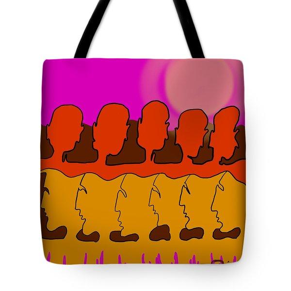 Living Together Tote Bag