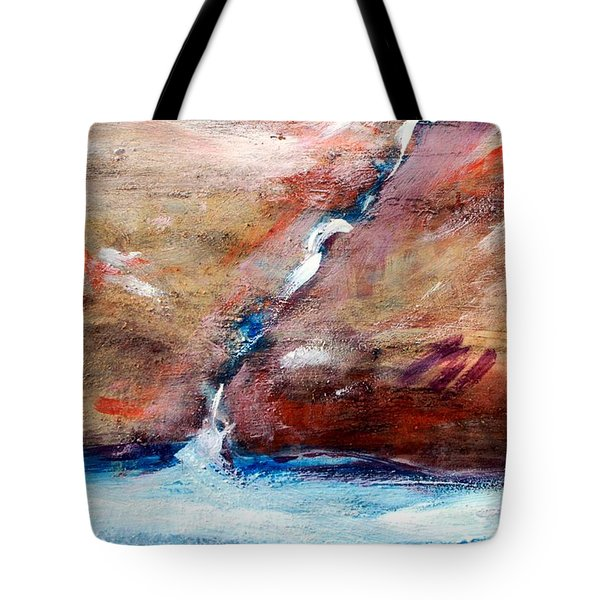 Living Water Tote Bag by Winsome Gunning