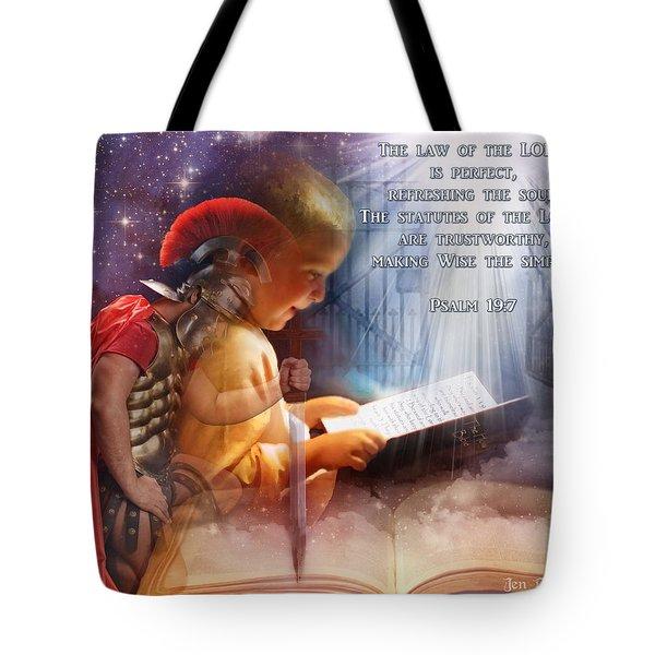 Living Word Tote Bag