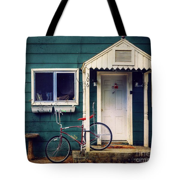 Livingston Bicycle Tote Bag by Craig J Satterlee
