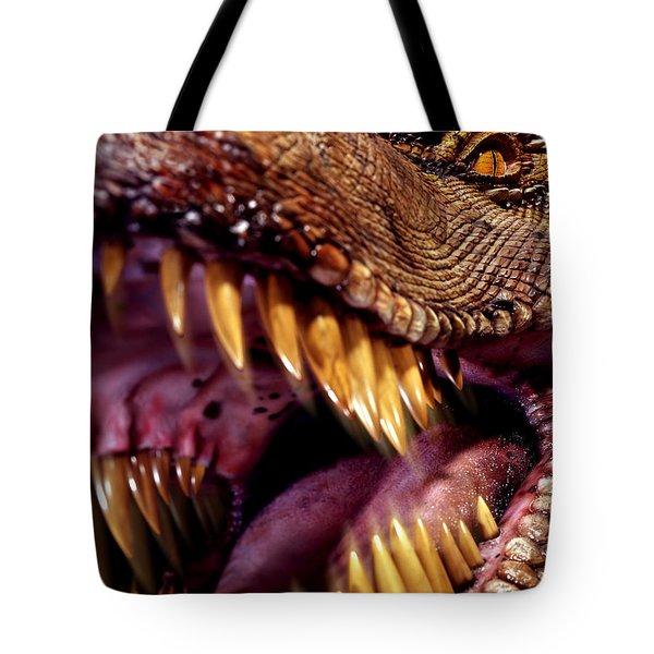 Lizard King Tote Bag by Kelley King