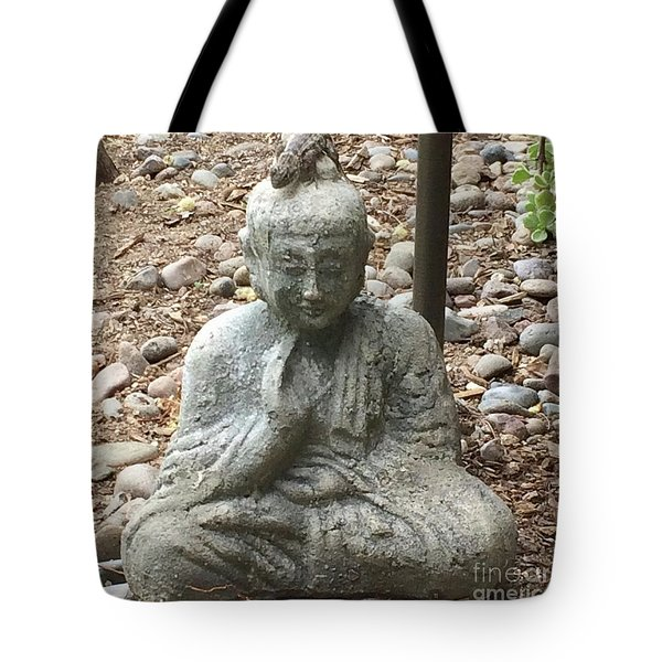 Tote Bag featuring the painting Lizard Zen by Kim Nelson