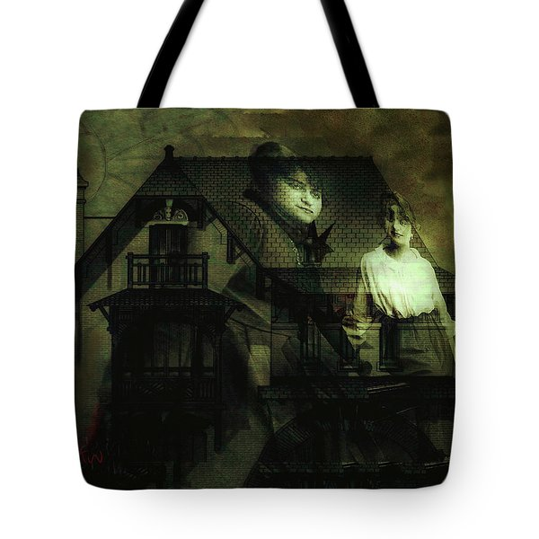 Lizzie And Her Sister Tote Bag