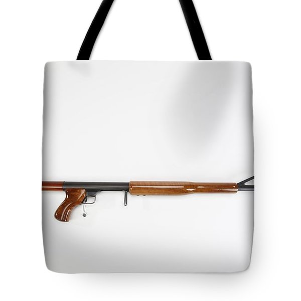 Ljutic Space Rifle Tote Bag