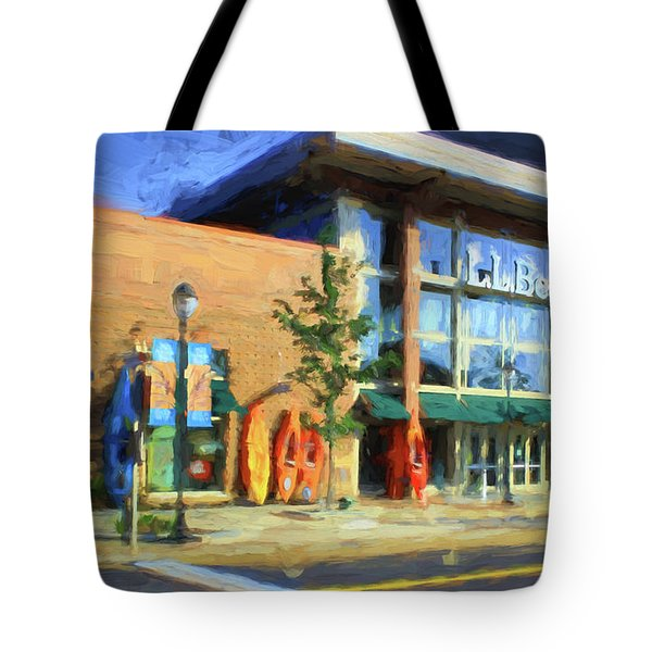 Ll Bean Store At The Promenade In Pa Tote Bag by Heinz G Mielke