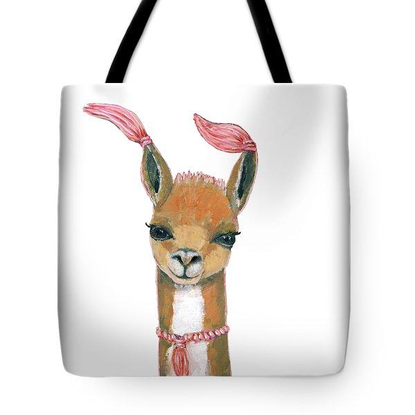 Llama Tote Bag