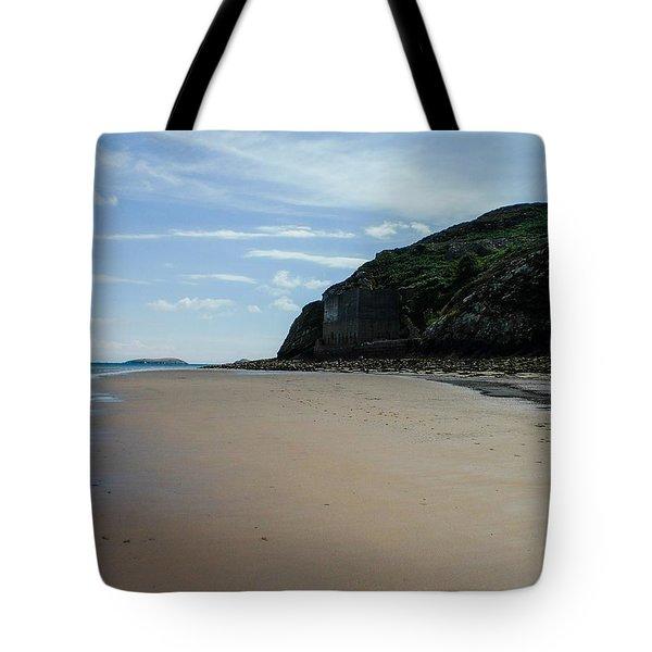 Llandbedrog Headland, Lleyn Peninsula, North Wales Tote Bag