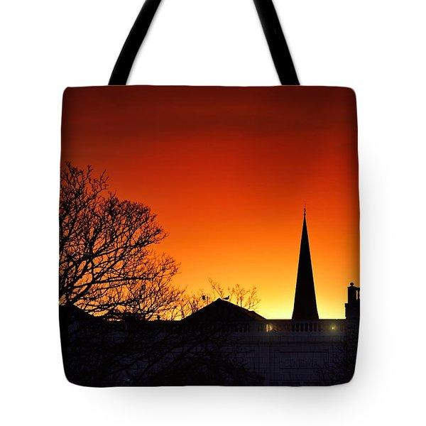 Llanelli Rooftops Tote Bag
